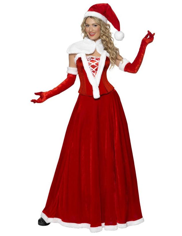 deguisement de mere noel Déguisement Mère Noël luxe femme, achat de Déguisements adultes  deguisement de mere noel