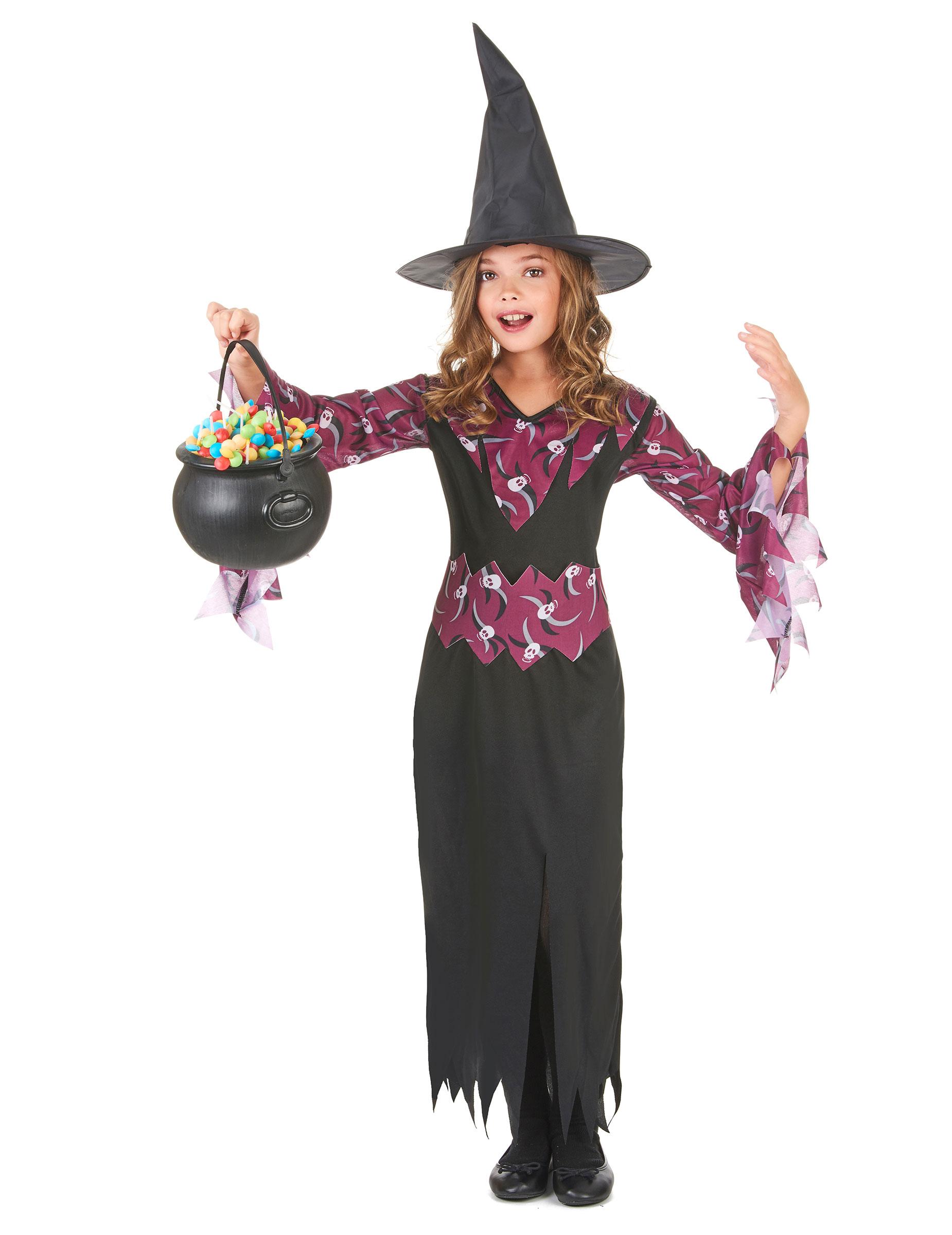 d guisement sorci re fille halloween achat de d guisements enfants sur vegaoopro grossiste en. Black Bedroom Furniture Sets. Home Design Ideas