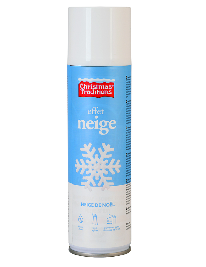 Bombe Spray Neige 250 Ml Noel Achat De Decoration Animation Sur