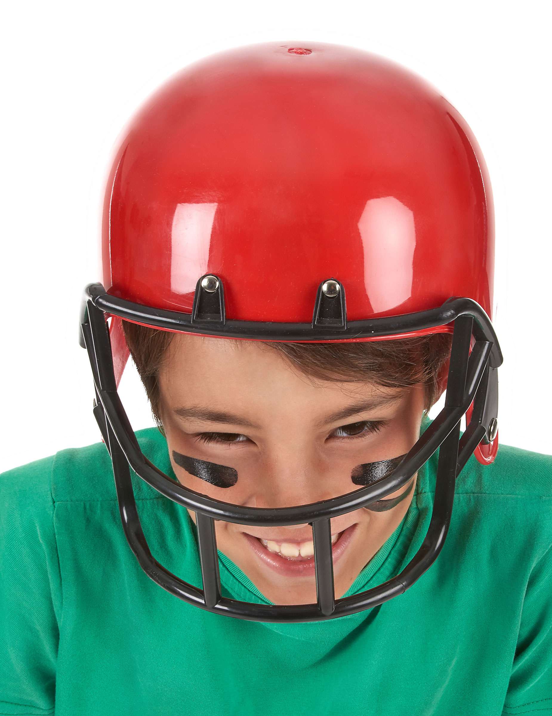 casque footballeur am ricain rouge enfant achat de chapeaux sur vegaoopro grossiste en. Black Bedroom Furniture Sets. Home Design Ideas