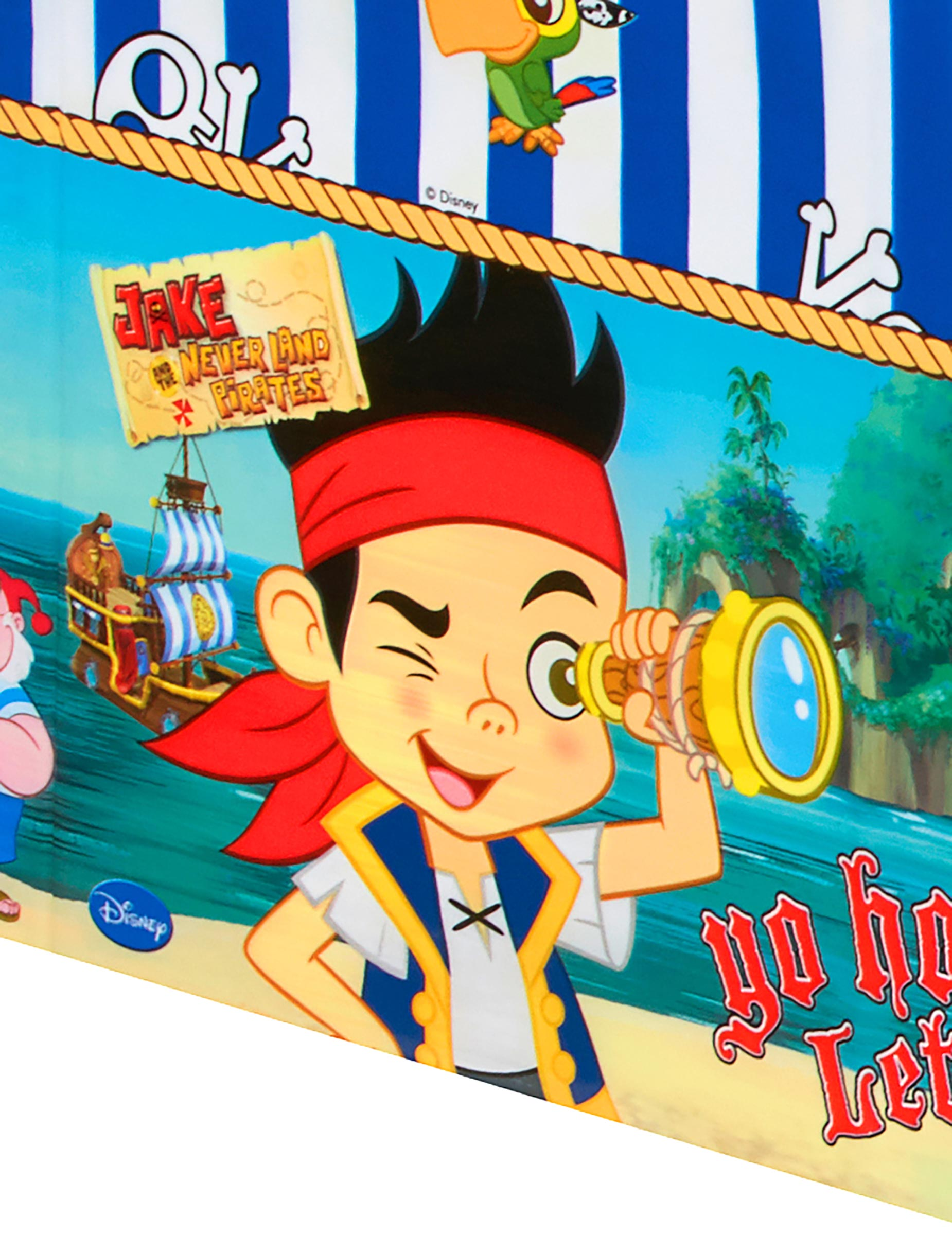 Nappe plastique jake et les pirates achat de decoration - Jake et les pirates ...