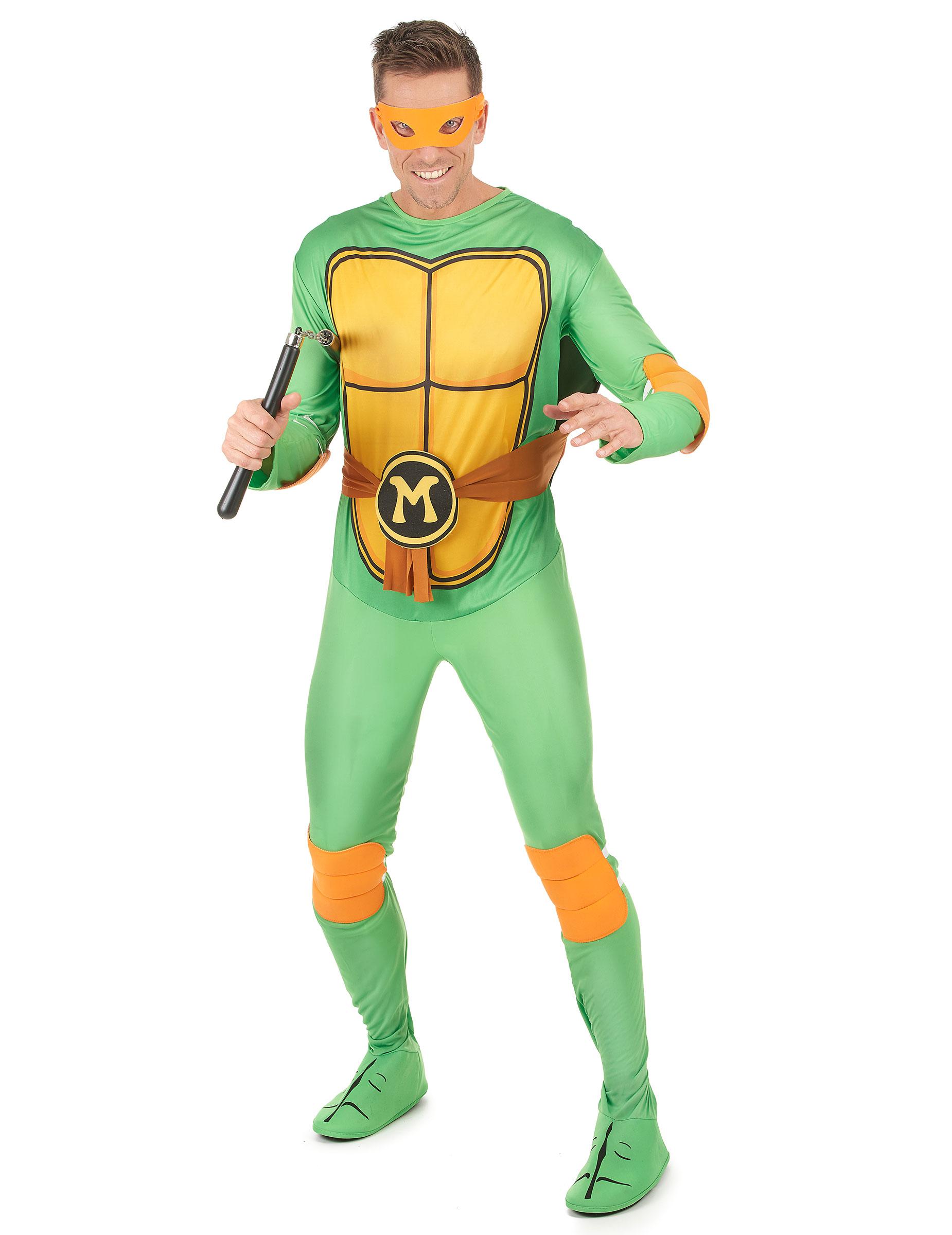Deguisement Classique Michelangelo Tortues Ninja Adulte Achat De Deguisements Adultes Sur Vegaoopro Grossiste En Deguisements