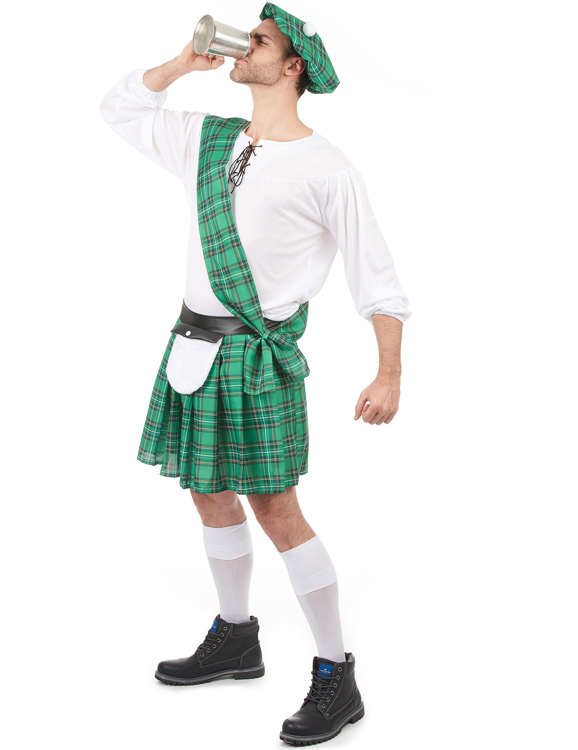 D guisement cossais vert homme achat de d guisements - Deguisement en o ...