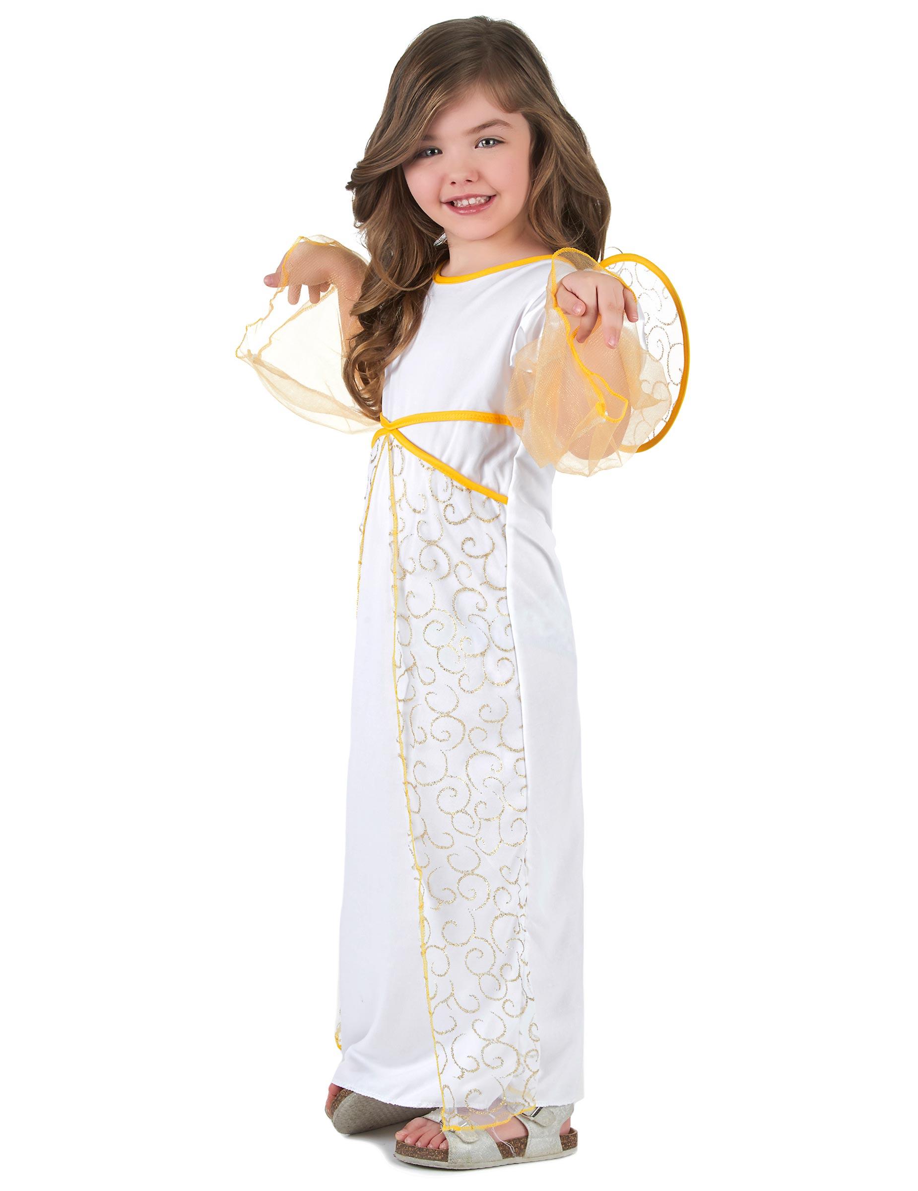 Déguisement ange blanc de Noël fille, achat de Déguisements enfants ... 2a5ea19d554f
