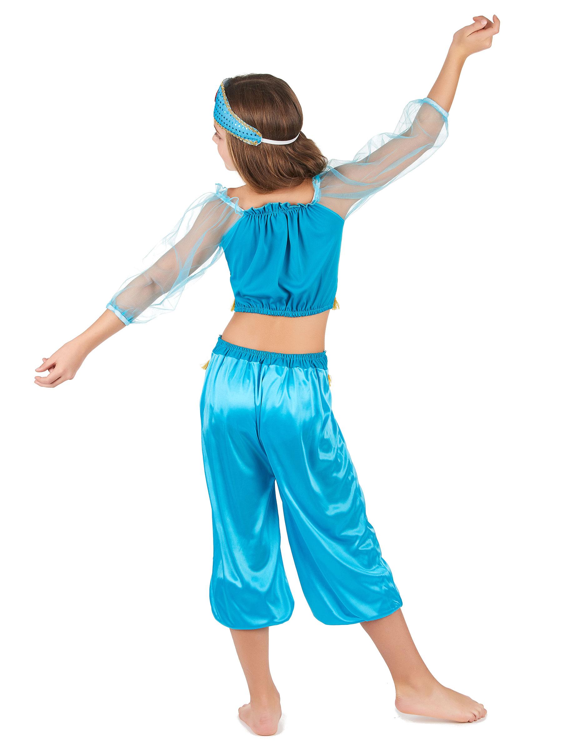d guisement danseuse orientale bleue fille achat de. Black Bedroom Furniture Sets. Home Design Ideas