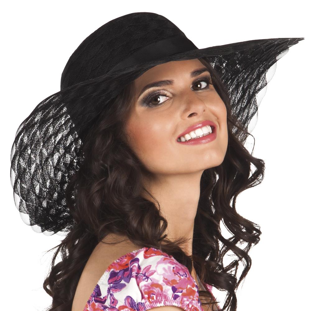 0dc62b9791fe6 Chapeau été noir femme, achat de Chapeaux sur VegaooPro, grossiste ...