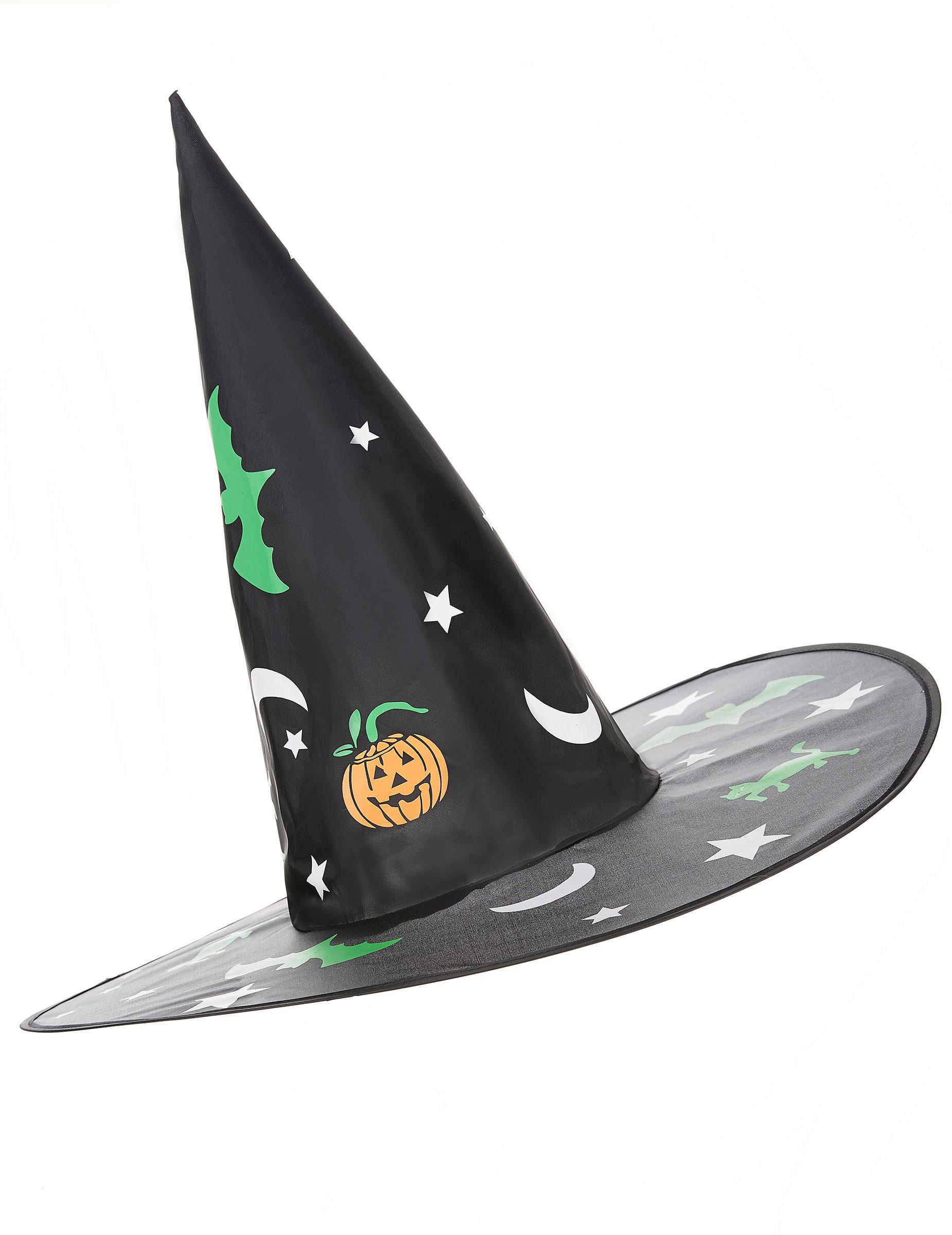chapeau sorci re avec d corations halloween achat de chapeaux sur vegaoopro grossiste en. Black Bedroom Furniture Sets. Home Design Ideas