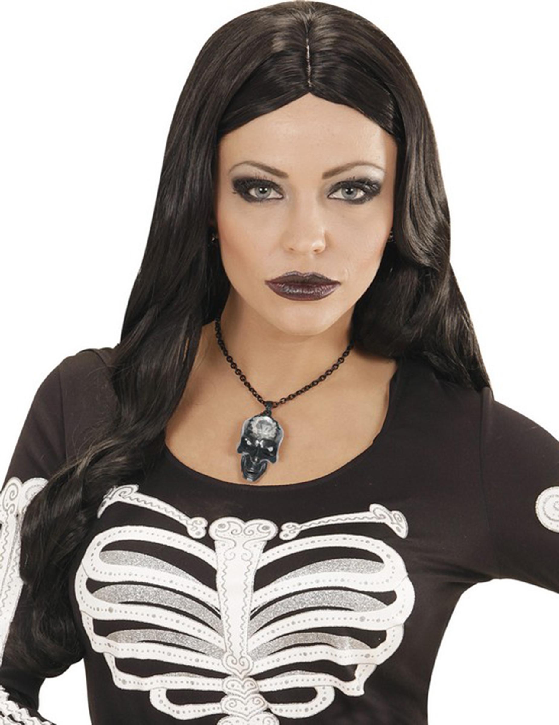 collier femme halloween