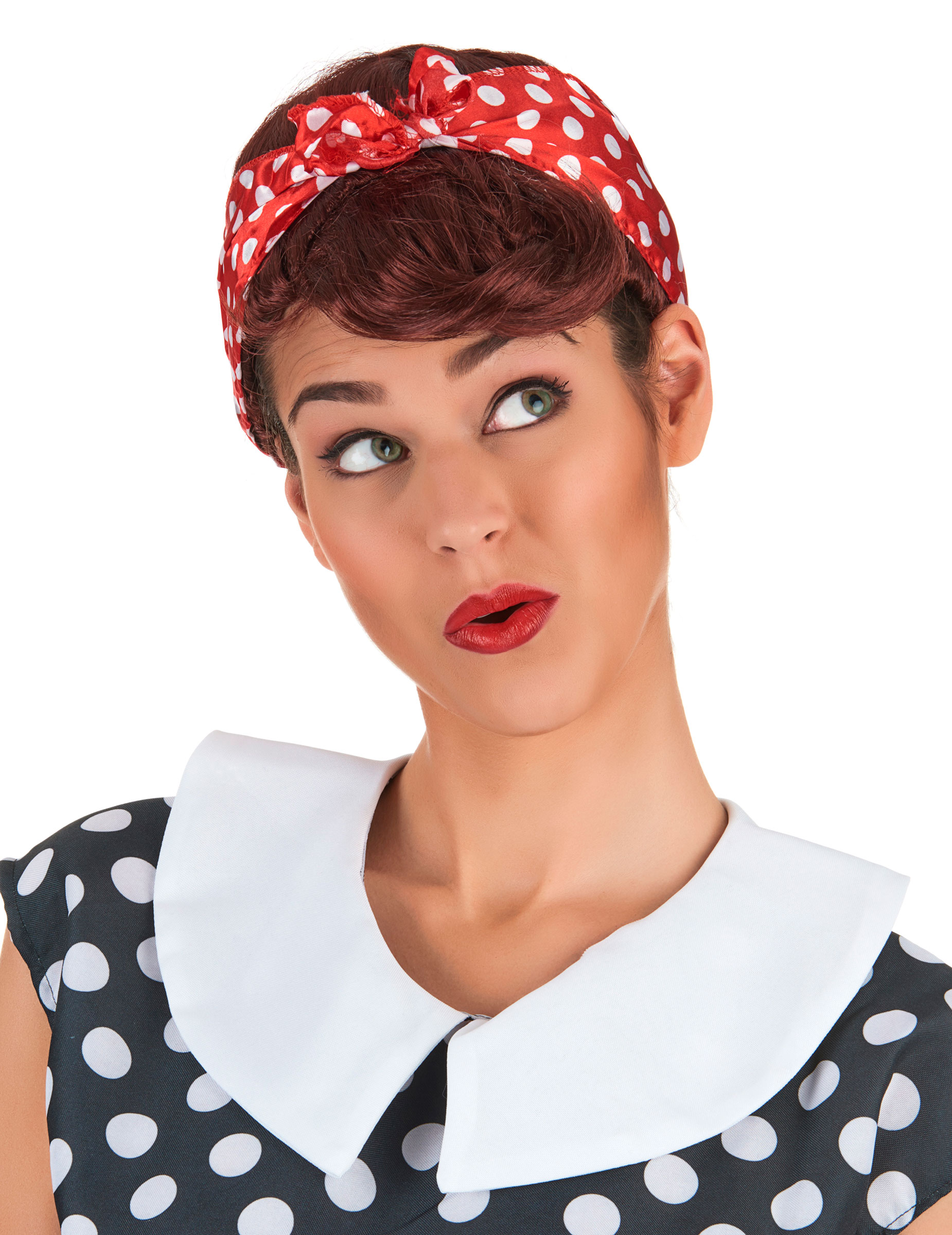 Perruque chatain pin up femme achat de perruques sur vegaoopro grossiste en d guisements - Femme pin up ...
