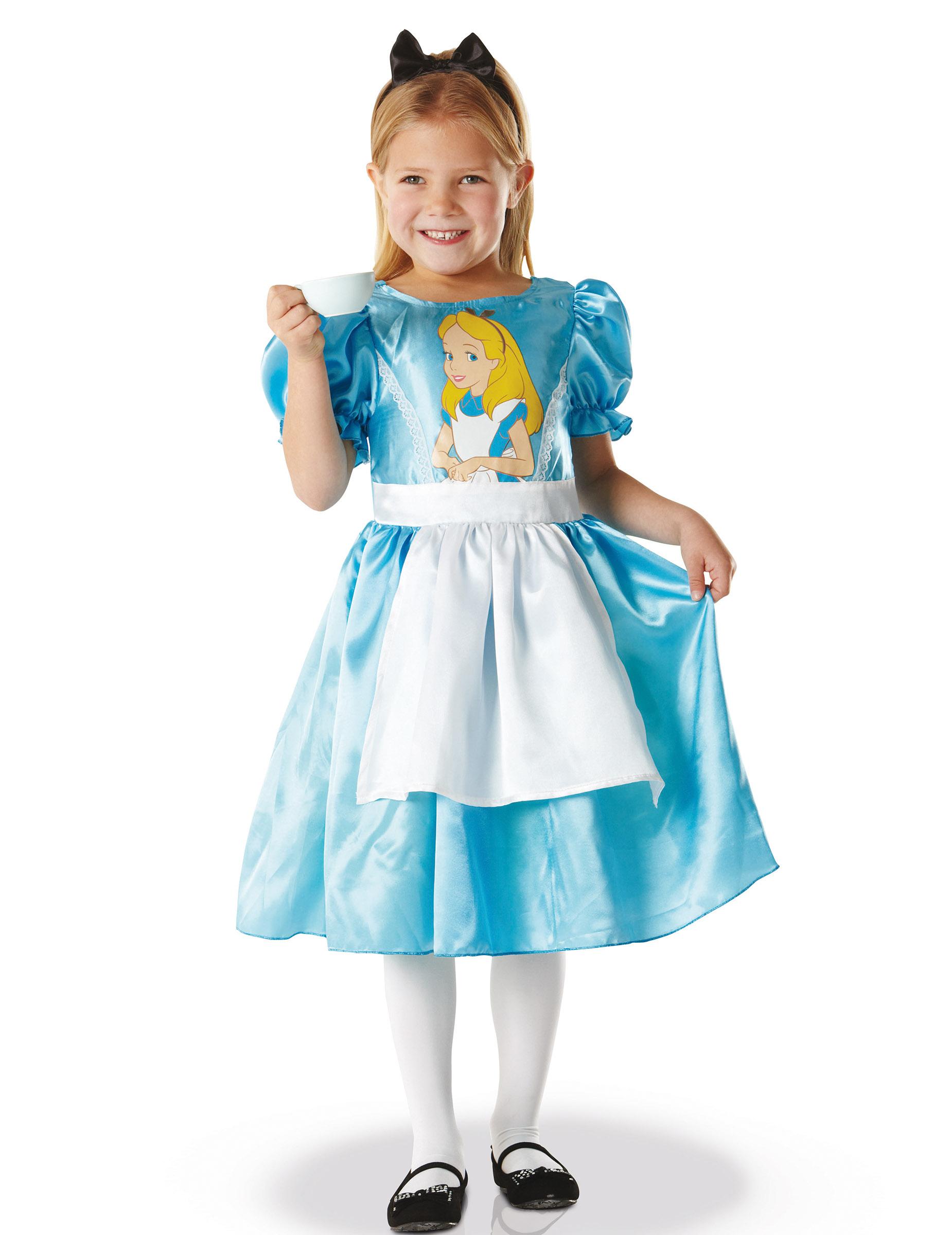 deguisement classique alice au pays des merveilles fille achat de d guisements enfants sur. Black Bedroom Furniture Sets. Home Design Ideas