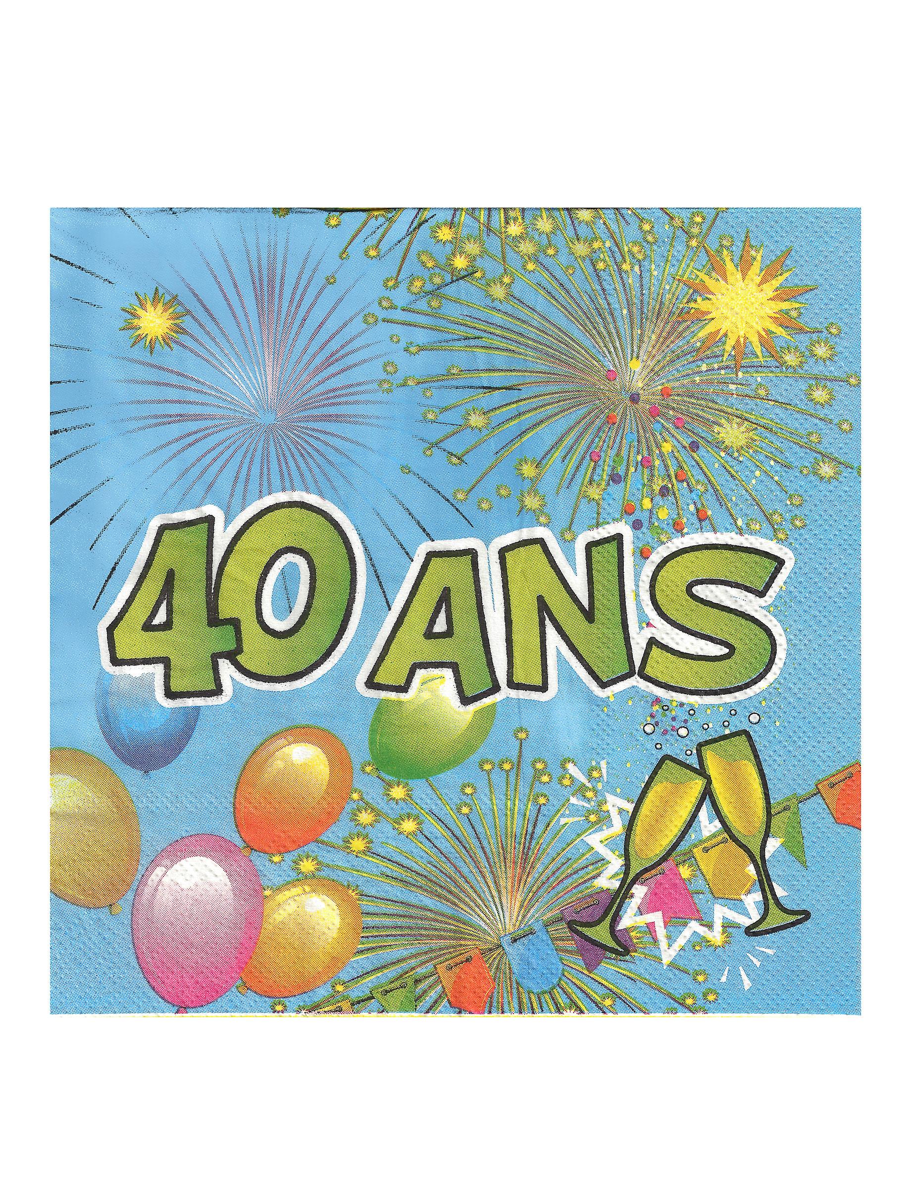 Animati on Anniversaire 40 Ans