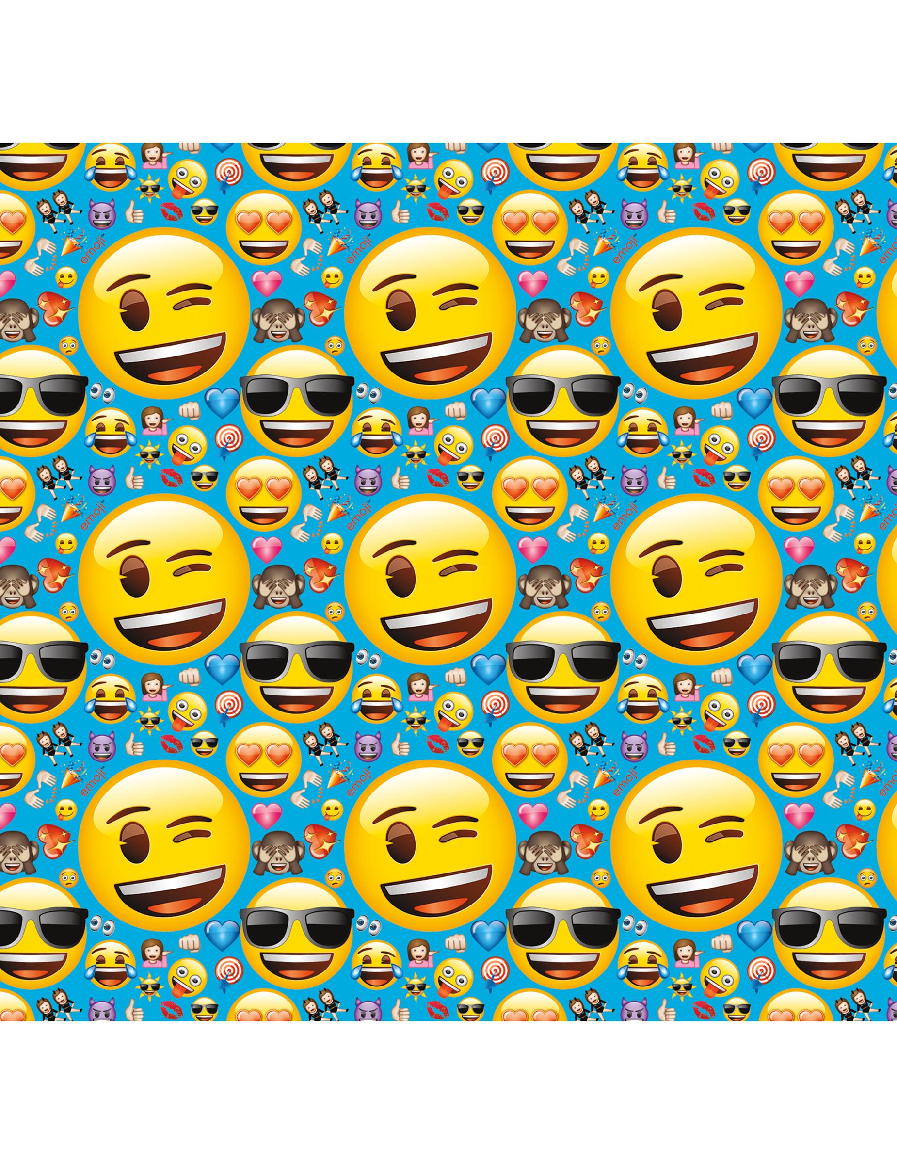 papier cadeau emoji achat de decoration animation sur vegaoopro grossiste en d guisements. Black Bedroom Furniture Sets. Home Design Ideas