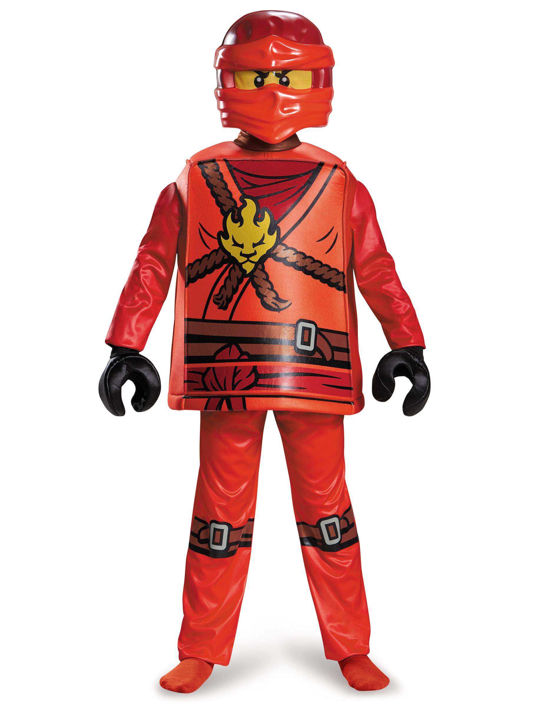 dguisement deluxe kai ninjago lego enfant - Ninjago Rouge