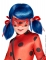 Perruque fille Ladybug - Miraculous™