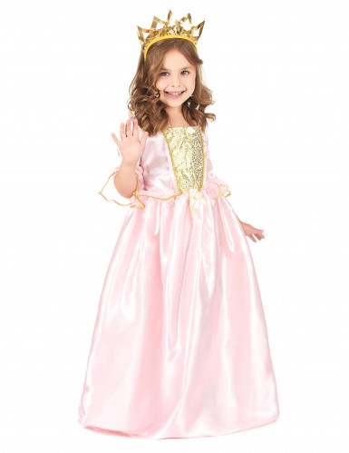 Déguisement princesse avec diadème fille