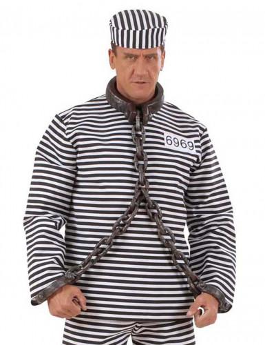 Chaîne de prisonnier pour cou et poignets