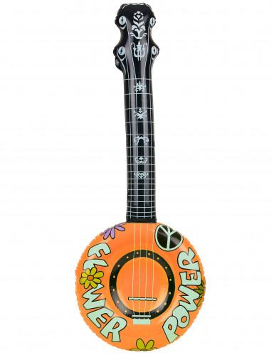 Banjo gonflable hippie