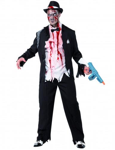 Déguisement zombie gangster charleston homme Halloween