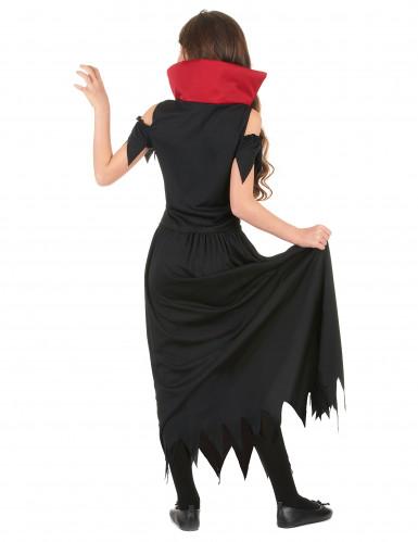 Déguisement vampire rouge fille Halloween