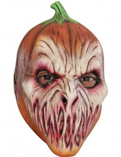 Masque citrouille effrayante halloween achat de masques - Citrouille effrayante ...