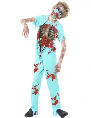 Déguisement docteur zombie enfant Halloween