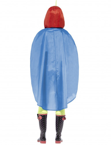 Poncho perroquet adulte