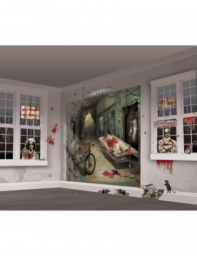Kit de décoration murale Halloween