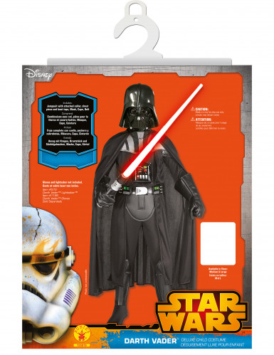 Déguisement enfant luxe Dark Vador avec masque - Star Wars™