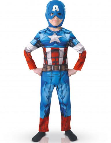 Déguisement classique Captain America Avengers Assemble™ enfant