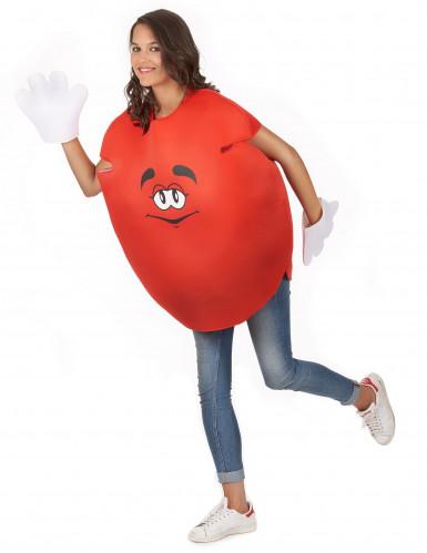 Déguisement bonbon rouge Adulte