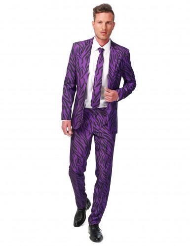 Costume Mr. Tiger violet homme Suitmeister™