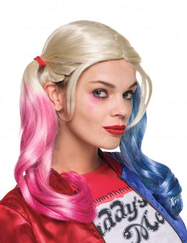 PerruqueHarley Quinn Suicide Squad™ femme