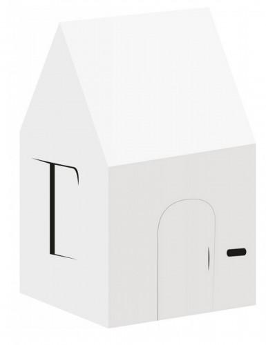 maison personnalisable carton recycl enfant 120 x 86 cm. Black Bedroom Furniture Sets. Home Design Ideas