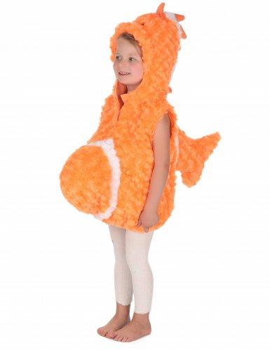 Déguisement poisson orange enfant