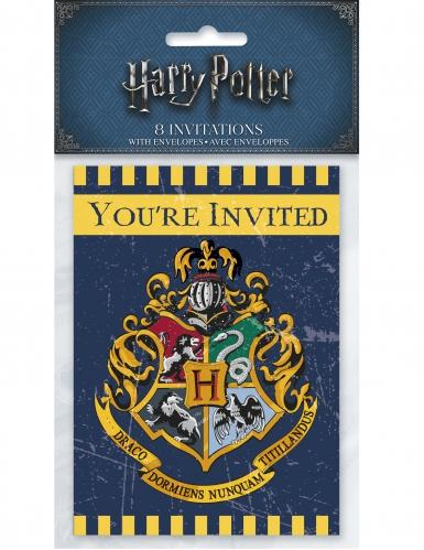 8 Cartes d'invitation Harry Potter ™