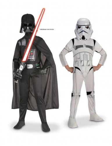 Pack Dark Vador + Stormtrooper Star Wars ™ enfant