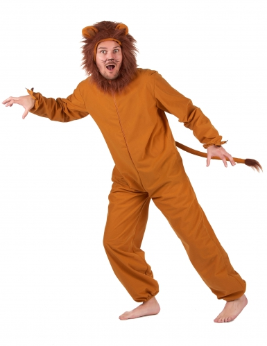Déguisement lion fauve homme