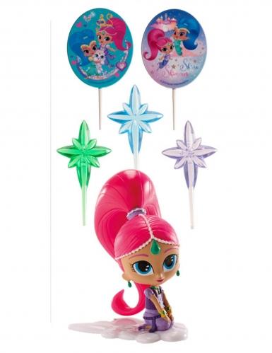 Kit de décoration Shimmer and Shine™ 8 cm