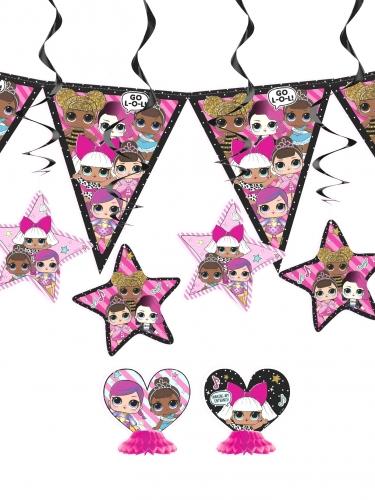 Kit de décoration anniversaire LOL Surprise™ 7 pièces