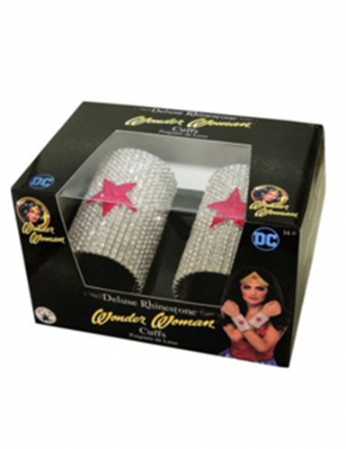 2 Bracelets deluxe strass Wonder Woman™