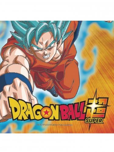 20 Serviettes en papier Dragon Ball Super™ 33 x 33 cm