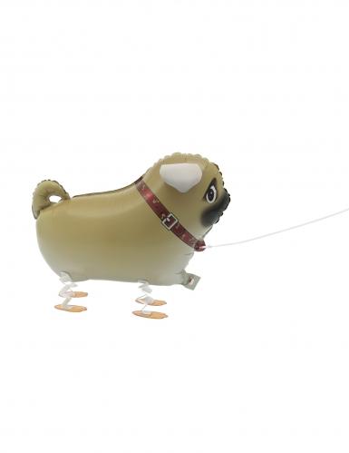 Ballon métallique chien marchant 55,8 cm