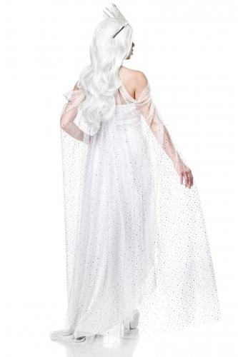Déguisement reine blanche femme