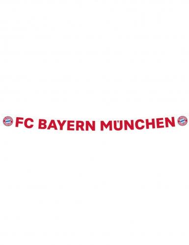 Bannière en carton FC Bayern Munich™ 180 x 11 cm