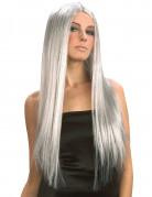 Vous aimerez aussi : Perruque longue grise femme Halloween