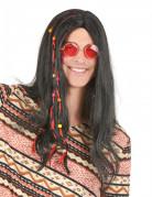 Vous aimerez aussi : Perruque hippie noire homme