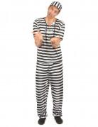 Vous aimerez aussi : Déguisement prisonnier noir et blanc homme