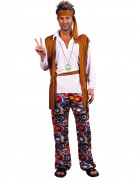 Vous aimerez aussi : Déguisement hippie marron et blanc homme