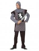 Vous aimerez aussi : Déguisement chevalier médiéval gris homme