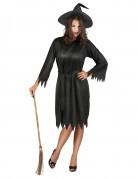 Vous aimerez aussi : Déguisement noir sorcière femme Halloween